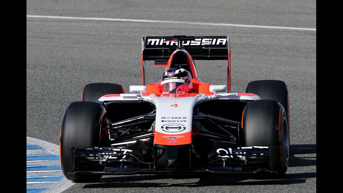 Marussia MR03 Präsentation