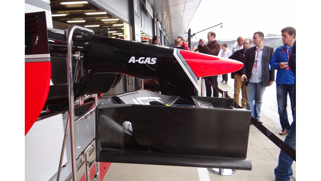 Marussia Nase 2012