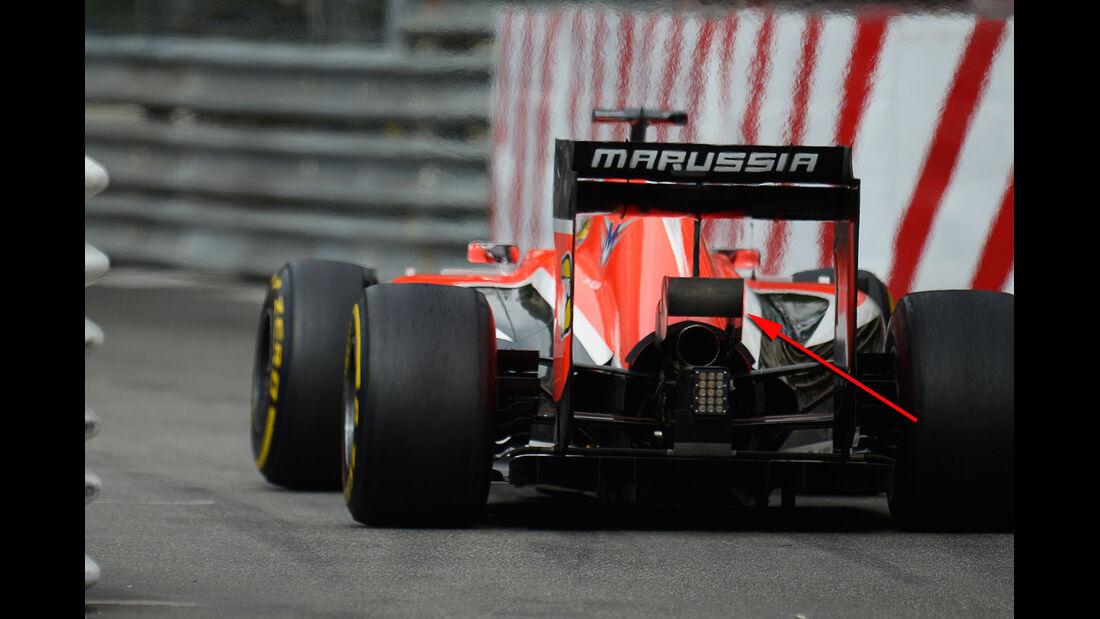 Marussia - Technik - GP Monaco 2014
