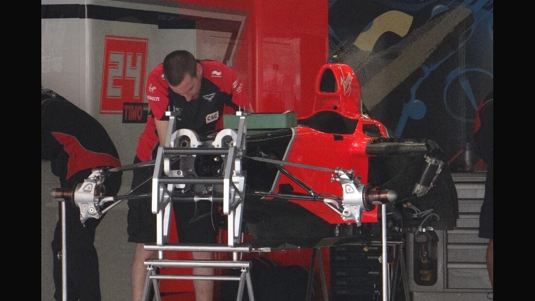 Marussia Virgin - Formel 1 - GP China - 11. April 2012