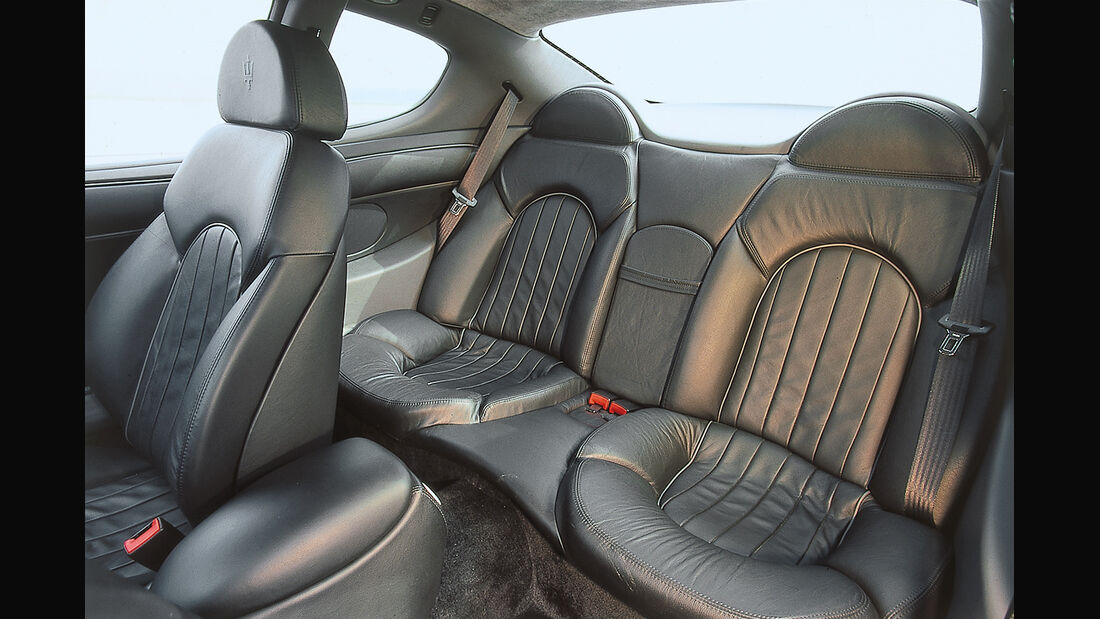 Maserati 3200 GT, Fondsitze