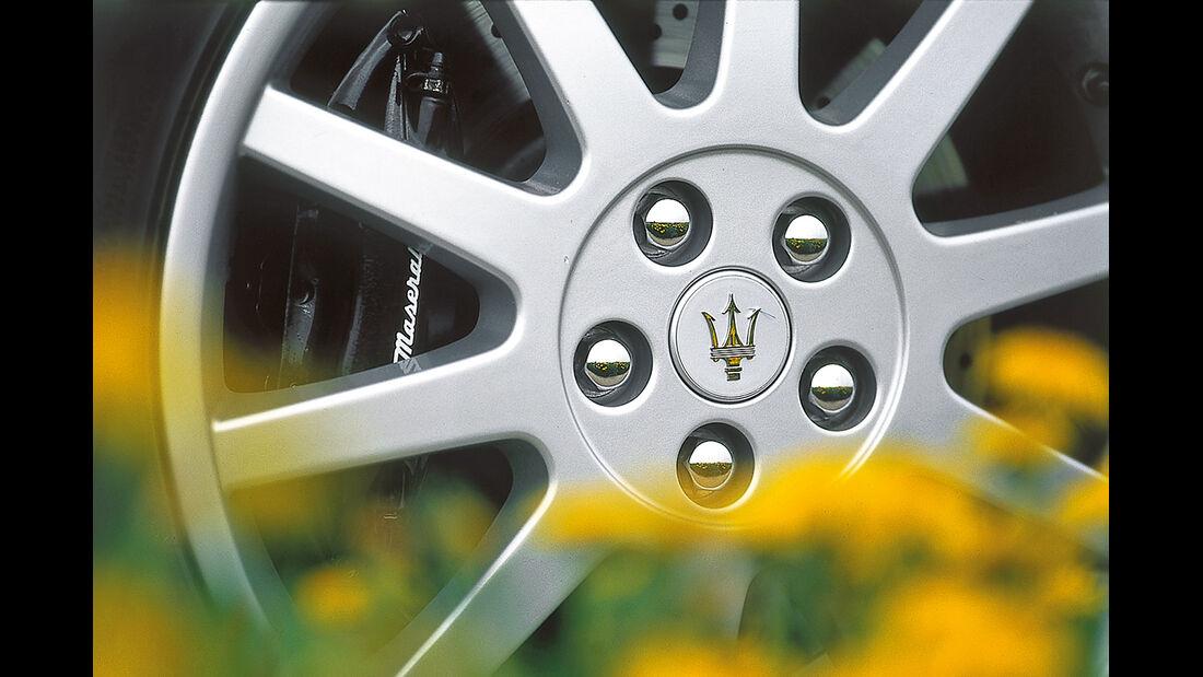 Maserati 3200 GT, Rad, Felge
