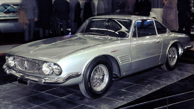 Maserati 5000 GT Ghia Chassis AM103 018