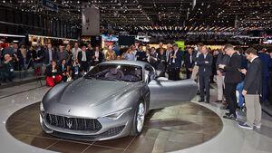 Maserati Alfieri, Genfer Autosalon, Messe, 2014