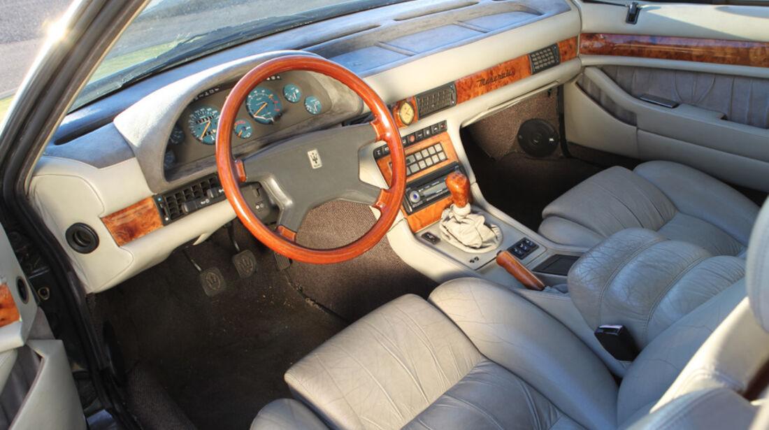 Maserati Biturbo 228, Innenraum