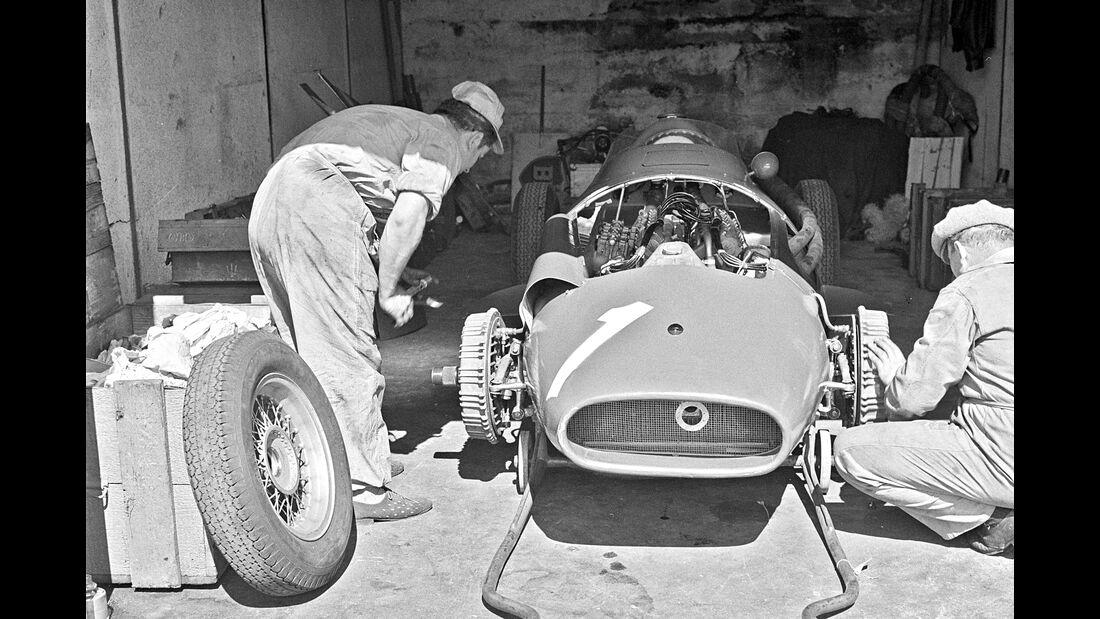 Maserati Box - F1 GP Deutschland 1957 - Nürburgring