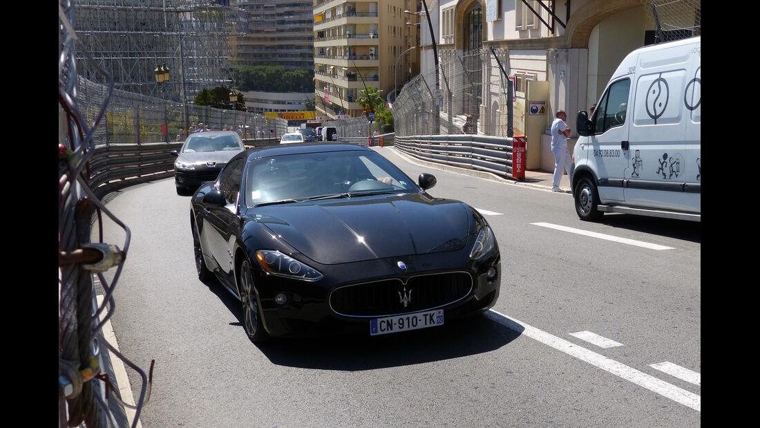 Maserati - Car Spotting - Formel 1 - GP Monaco - 25. Mai 2014
