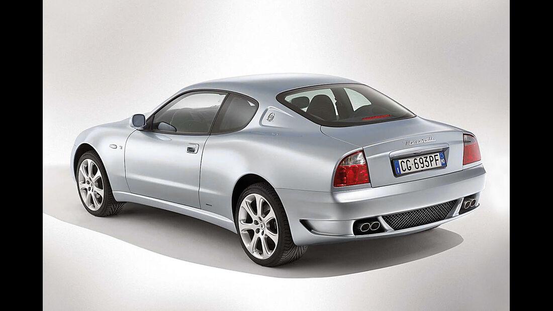 Maserati Coupé, Heckansicht