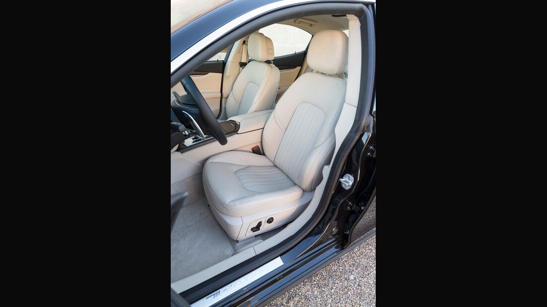 Maserati Ghibli Diesel, Fahrersitz