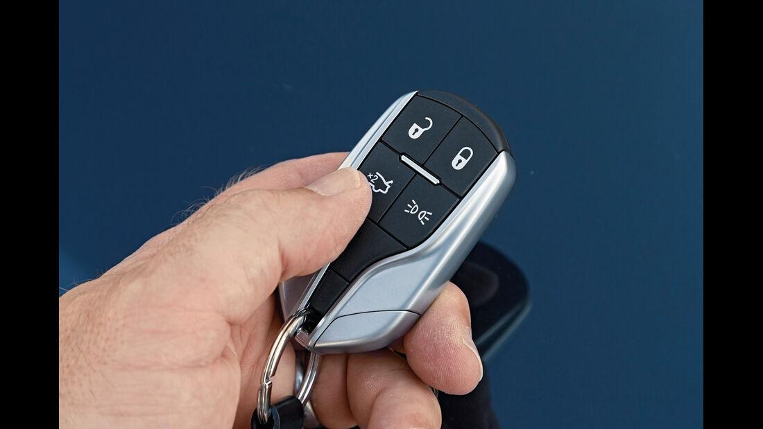 Maserati Ghibli Diesel, Fernsteuerung