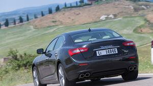 Maserati Ghibli Diesel, Heckansicht