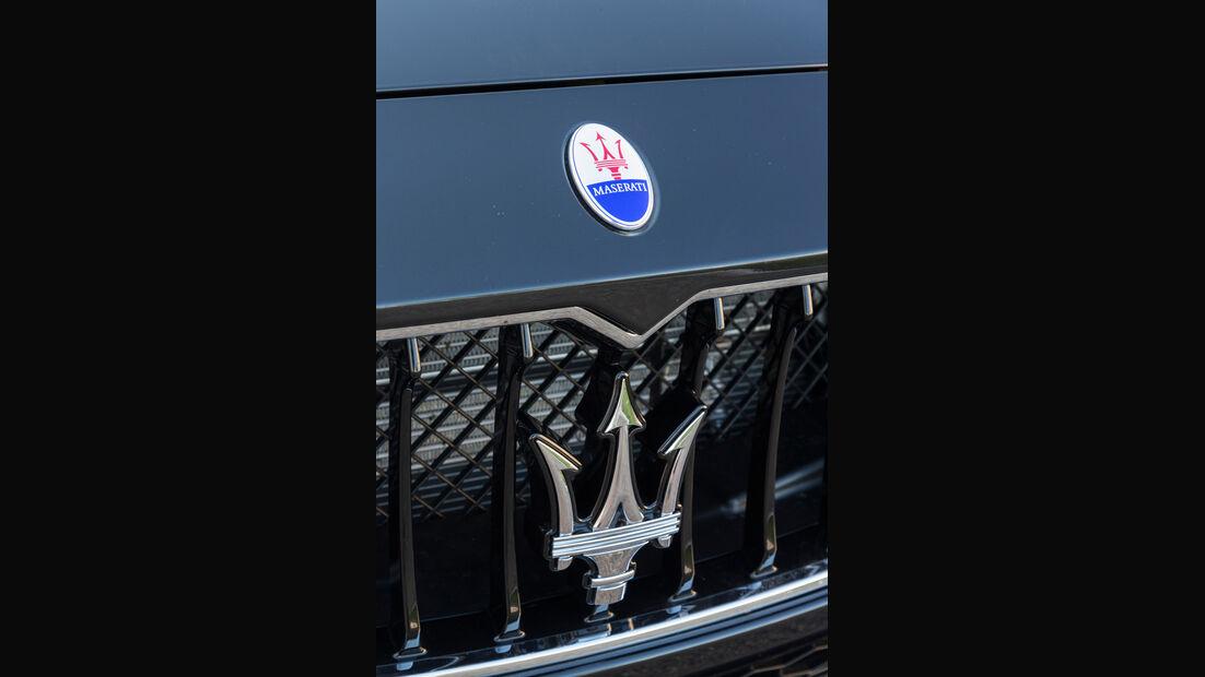 Maserati Ghibli Diesel, Kühlergrill, Dreizack
