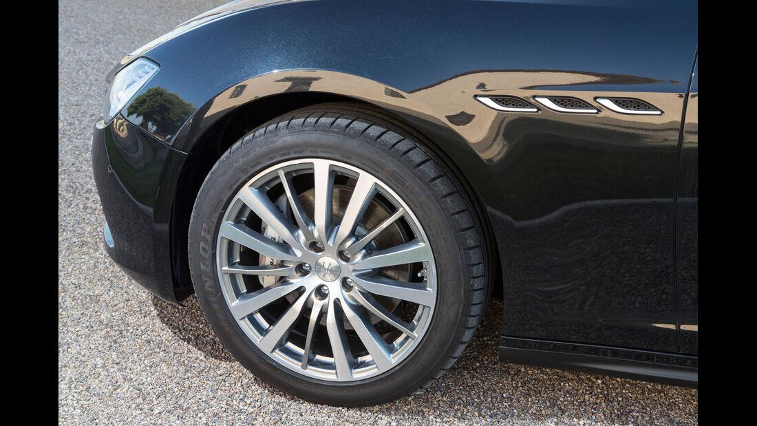 Maserati Ghibli Diesel, Rad, Felge