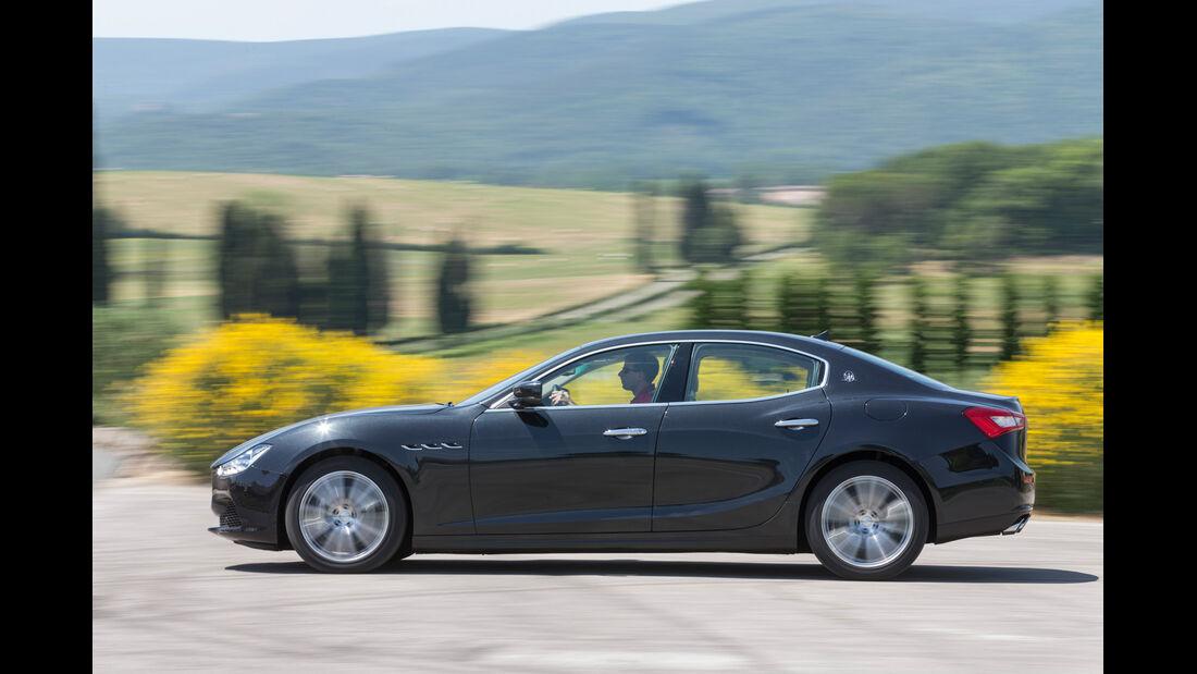Maserati Ghibli Diesel, Seitenansicht