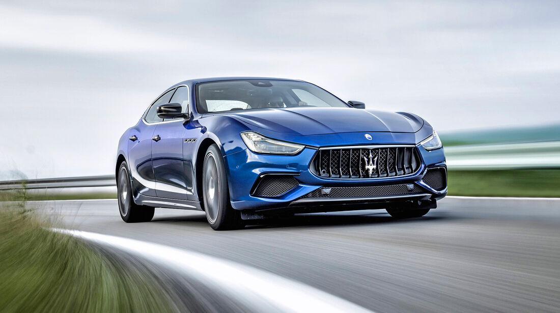 Maserati Ghibli Diesel - Serie - Diesel - sport auto Award 2019
