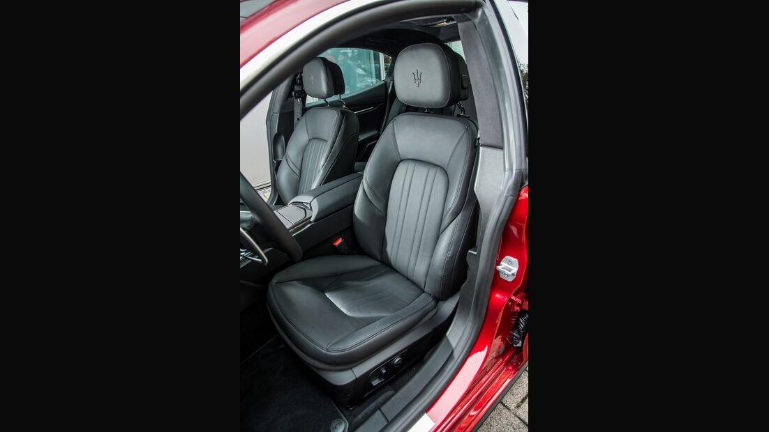 Maserati Ghibli, Fahrersitz