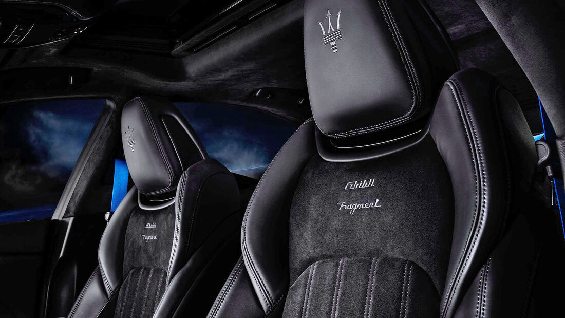 Maserati Ghibli Fragment Edition