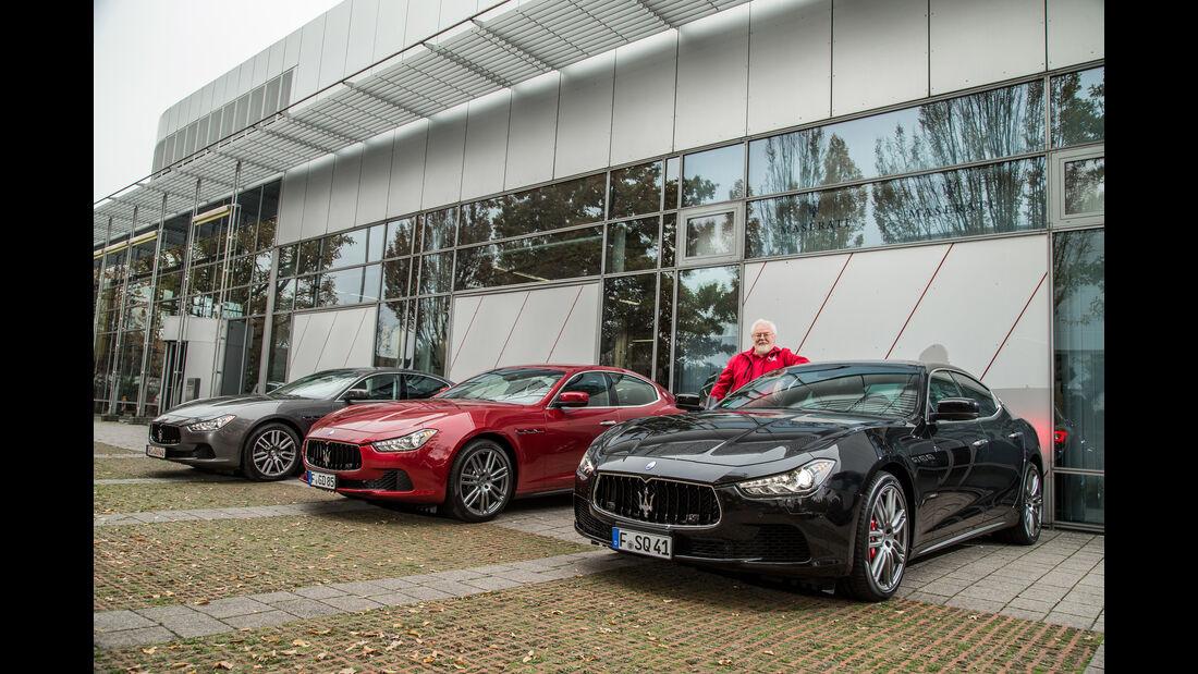 Maserati Ghibli, Frontansicht