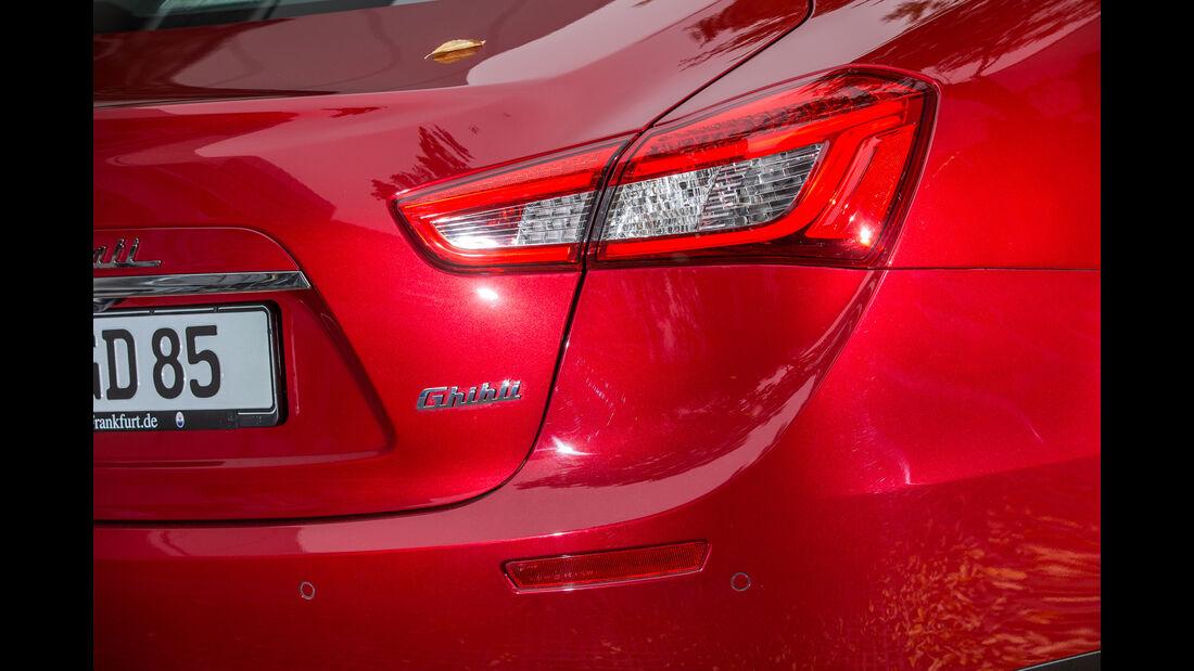 Maserati Ghibli, Heckleuchte