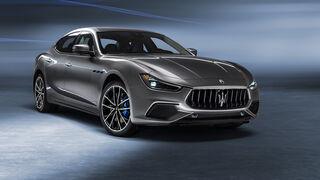Maserati Ghibli Hybrid - Vierzylinder-Turbo - Mild-Hybrid - Sportlimousine