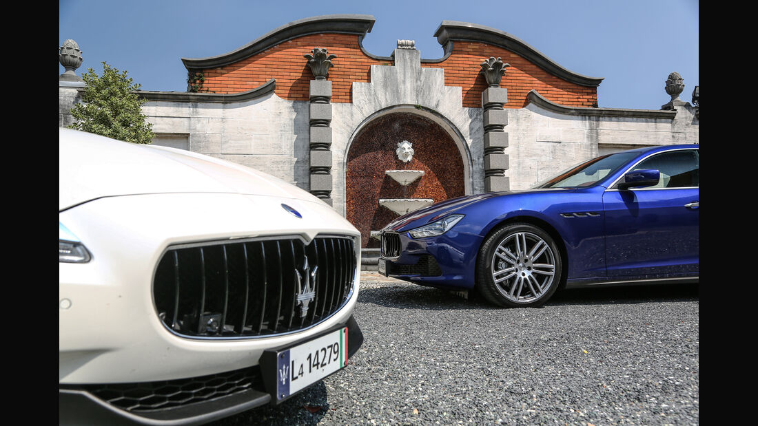 Maserati Ghibli, Maserati Quattroporte, Details