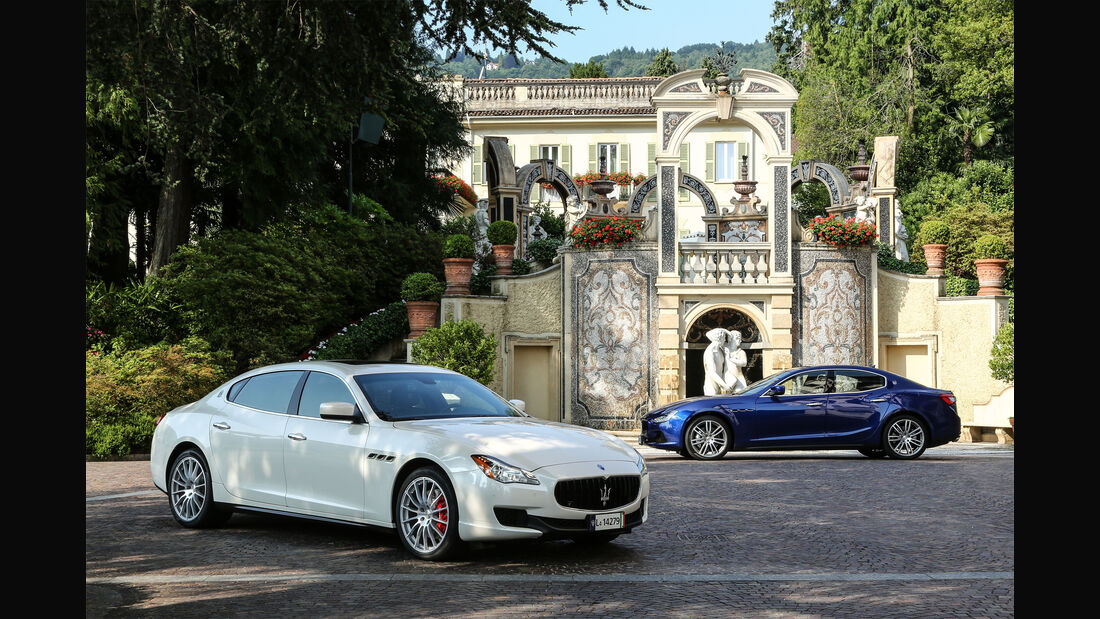 Maserati Ghibli, Maserati Quattroporte, Totale