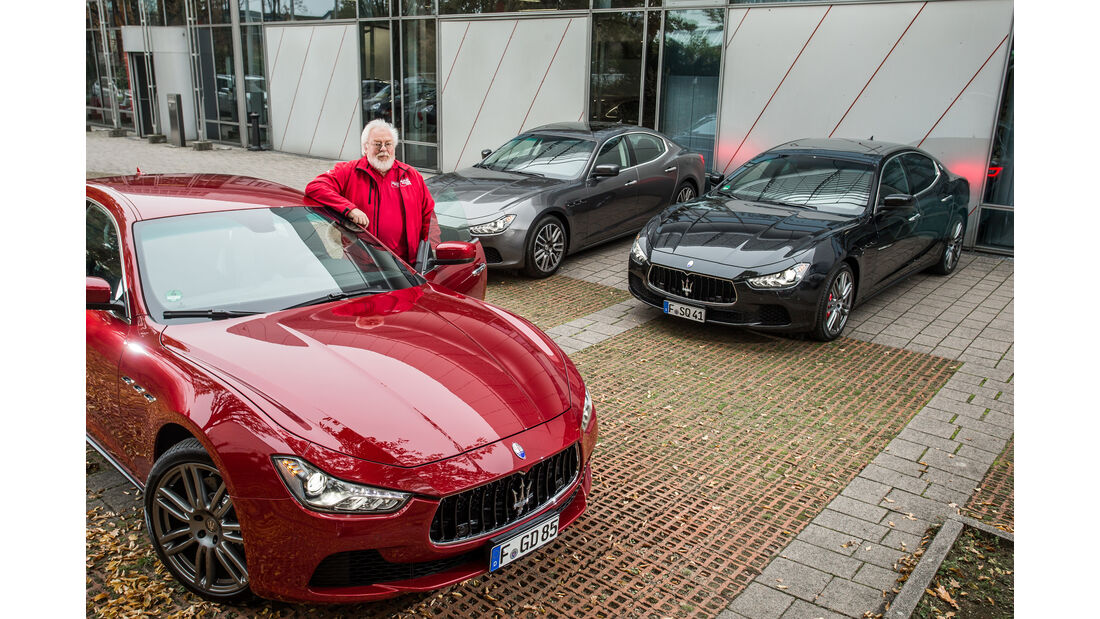 Maserati Ghibli, Modelle
