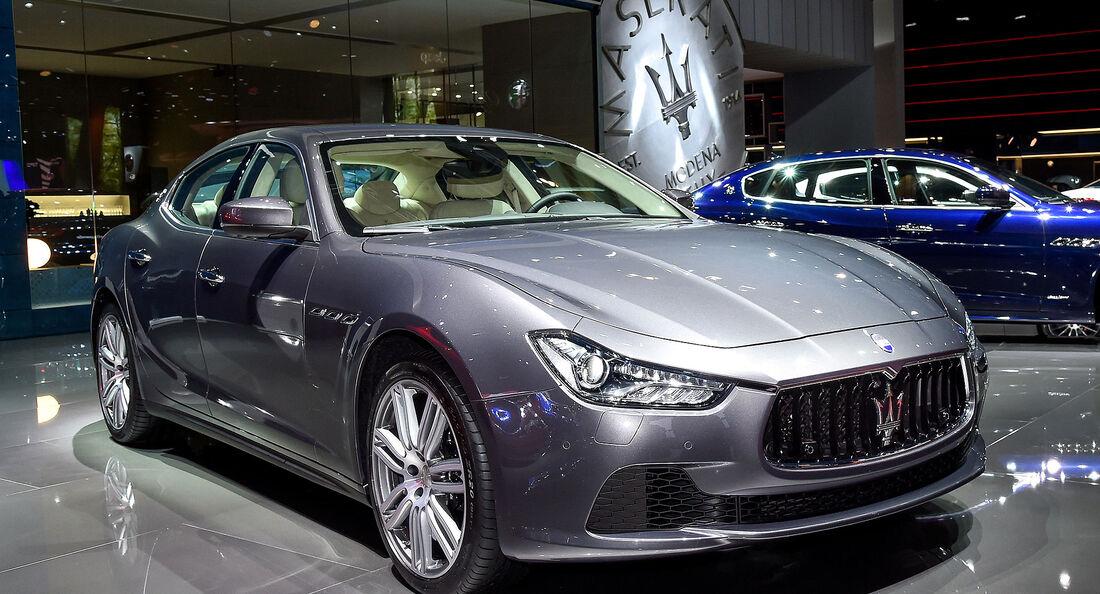 Maserati Ghibli Modellpflege 2016