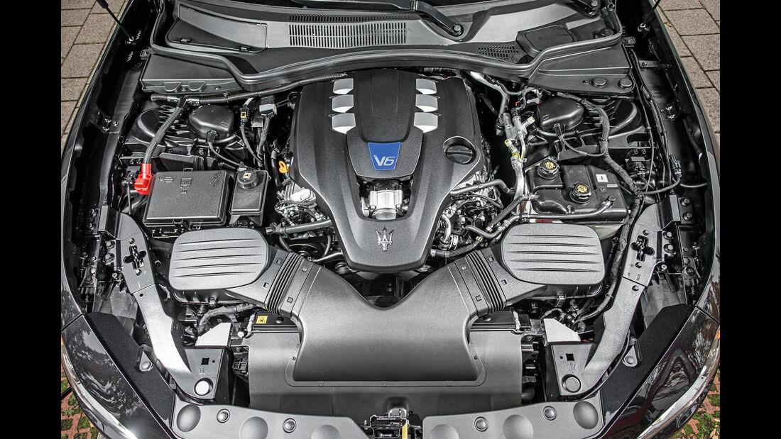 Maserati Ghibli, Motor