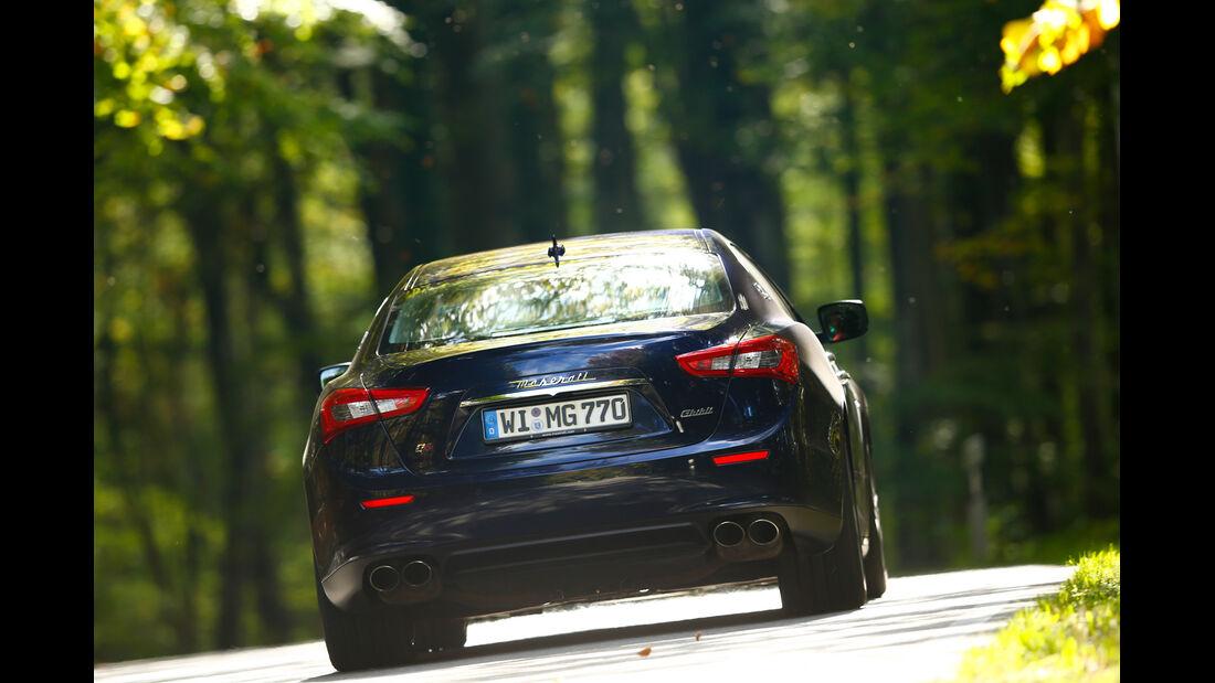 Maserati Ghibli S Q4, Heckansicht