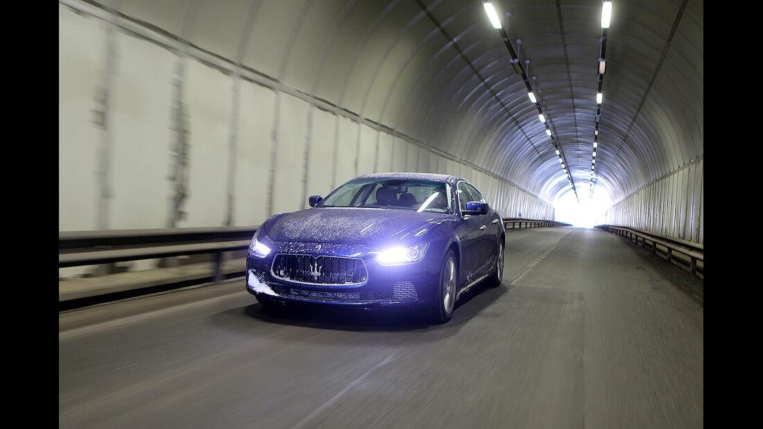 Maserati Ghibli S Q4, Licht, Scheinwerfer, Allrad