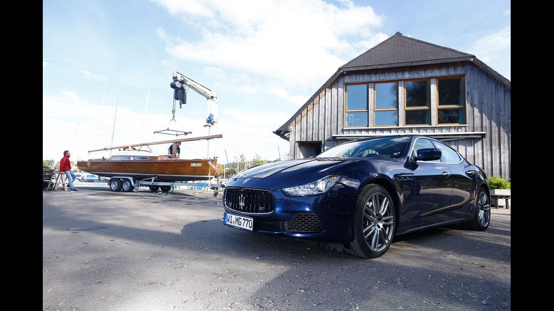Maserati Ghibli S Q4, Vorschau, Allrad