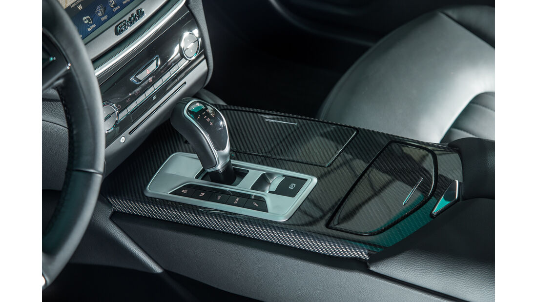 Maserati Ghibli, Schalthebel