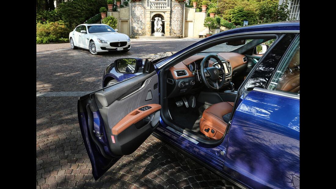 Maserati Gibli, Front
