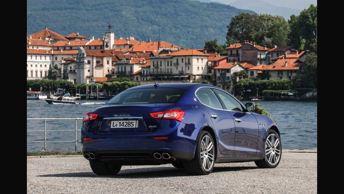 Maserati Gibli, Heck