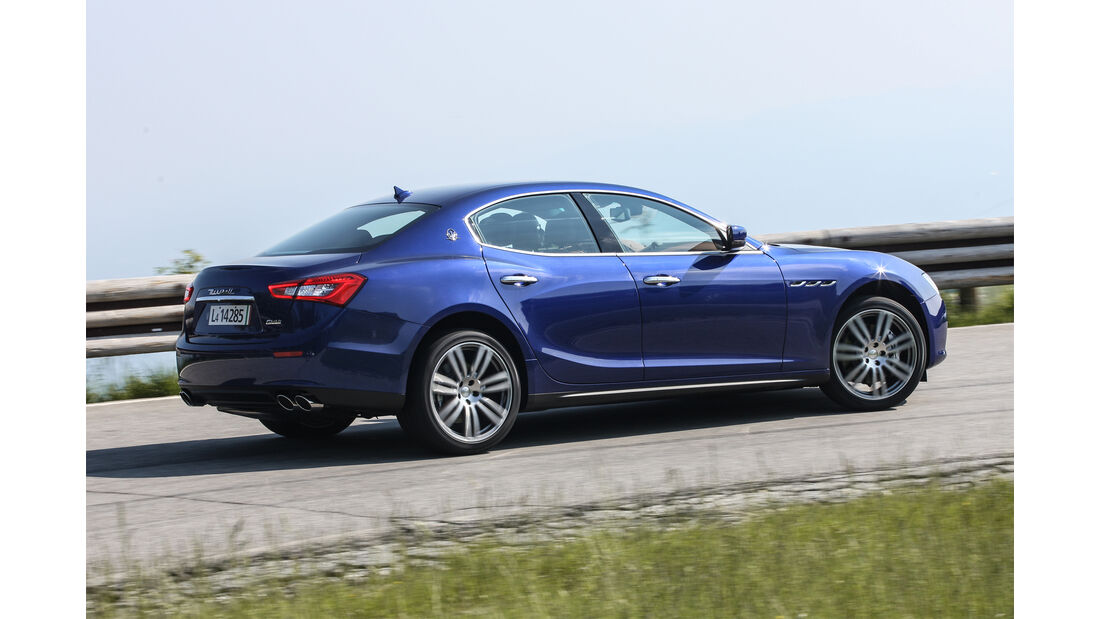 Maserati Gibli, Seite