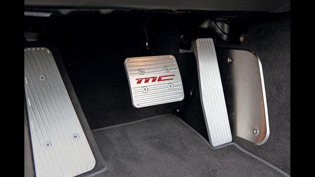 Maserati Gran Cabrio Sport, Bremspedal, Pedale, Detail