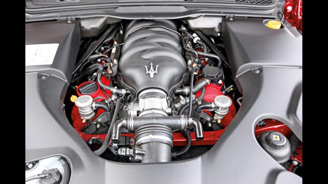 Maserati Gran Cabrio Sport, Motor, Motorblock