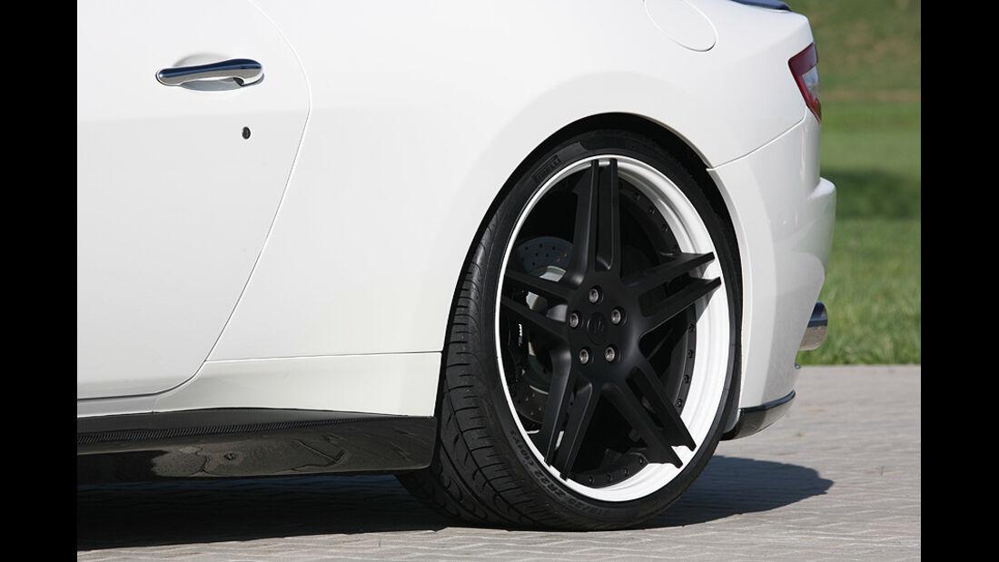 Maserati Gran Cabrio von Novitec Tridente, Felge, Hinterrad