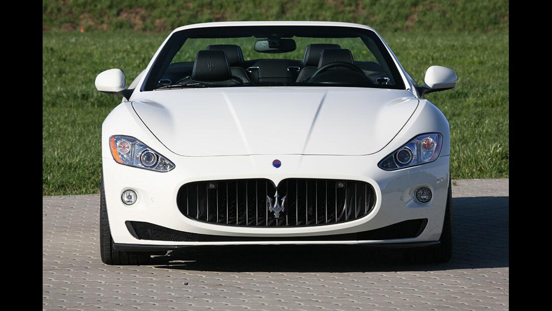 Maserati Gran Cabrio von Novitec Tridente, Front