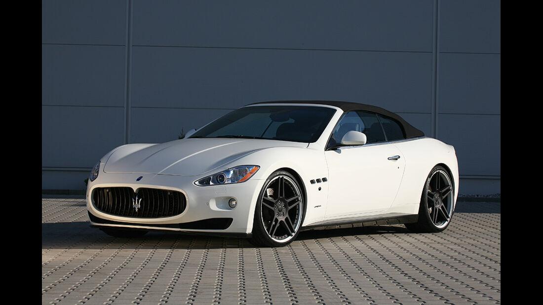 Maserati Gran Cabrio von Novitec Tridente, Front, Verdeck geschlossen