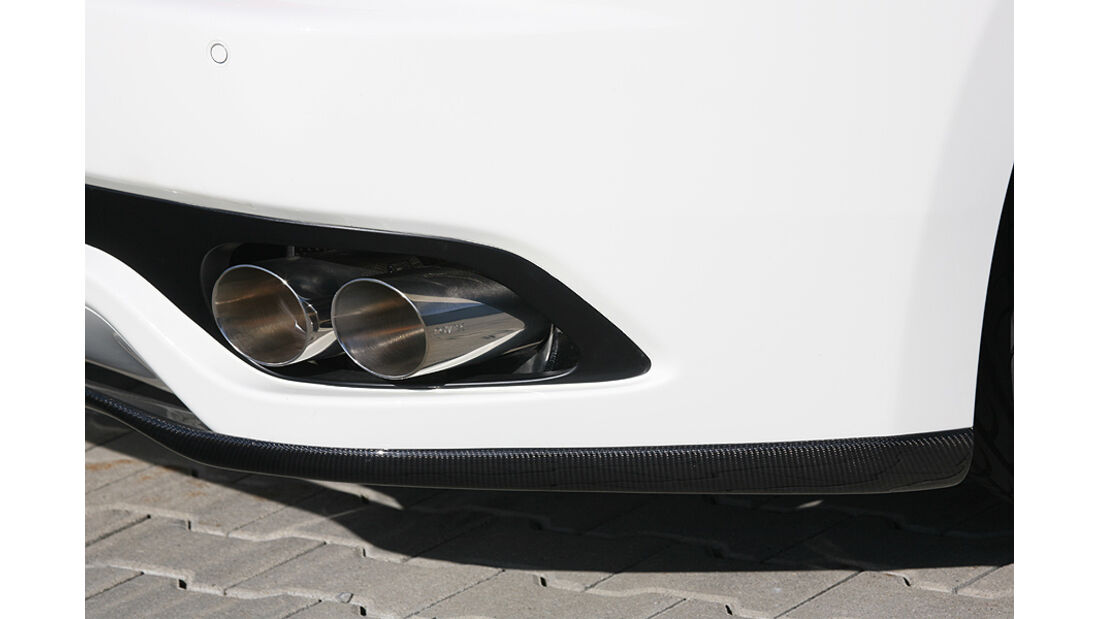Maserati Gran Cabrio von Novitec Tridente, Heckspoiler