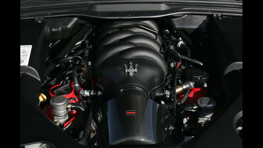 Maserati Gran Cabrio von Novitec Tridente, Motor
