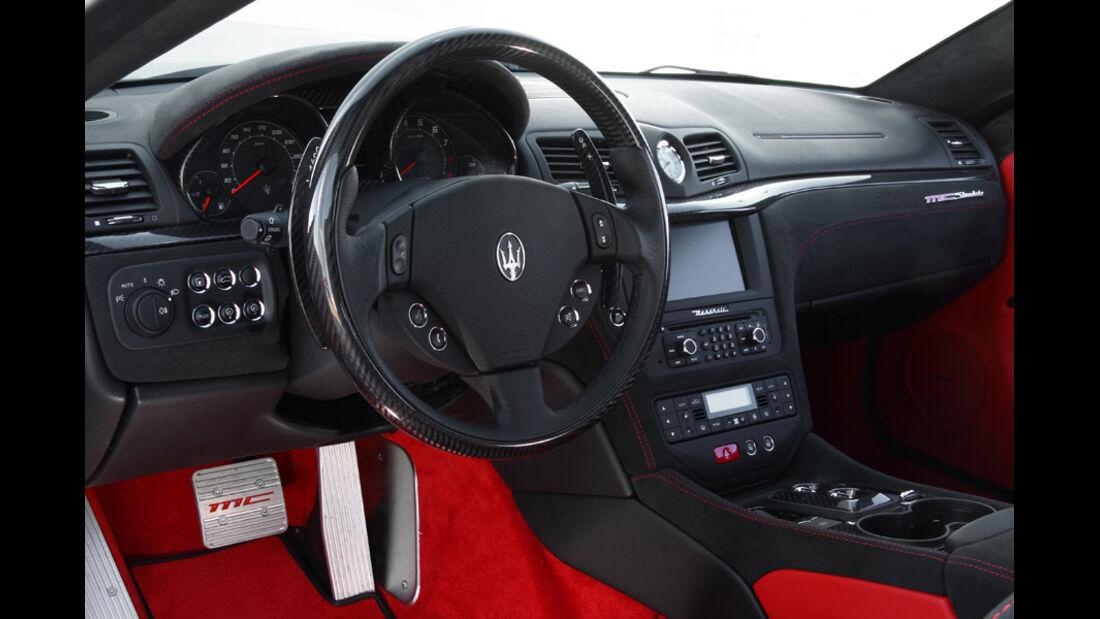 Maserati Gran Turismo MC Stradale Innenraum