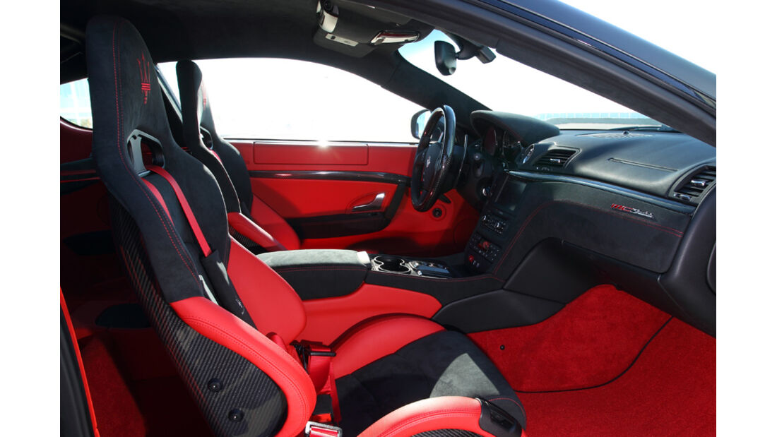 Maserati Gran Turismo MC Stradale Kühlerfigur