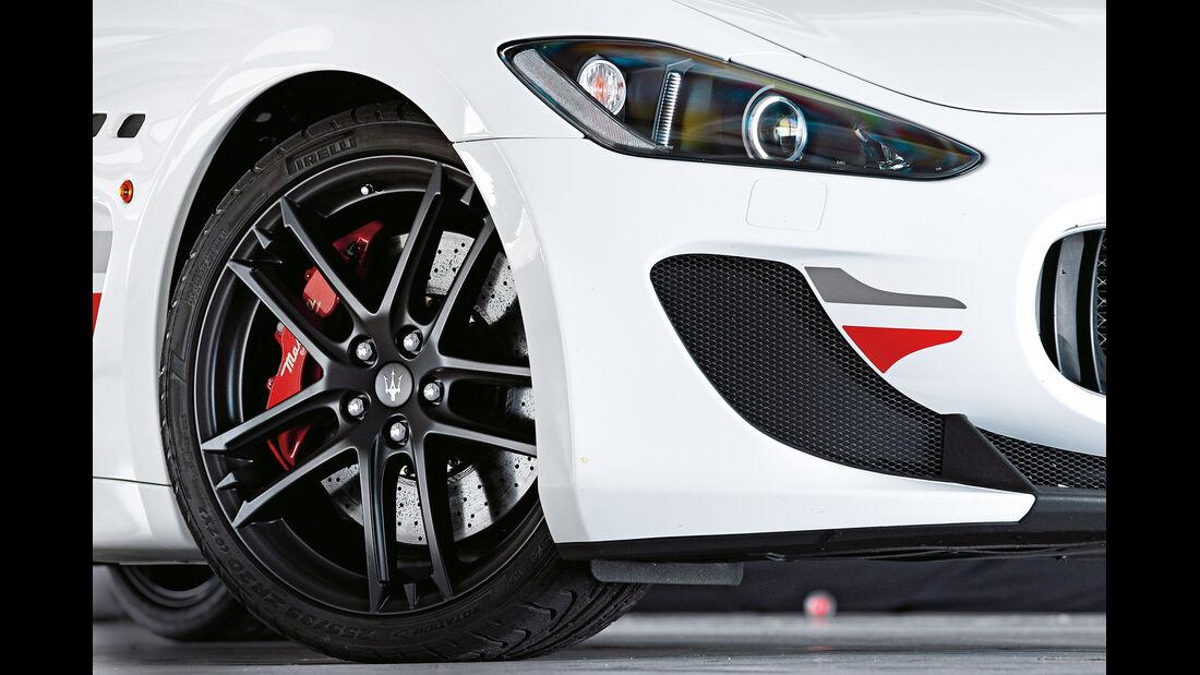 Maserati Gran Turismo MC Stradale, Rad, Felge