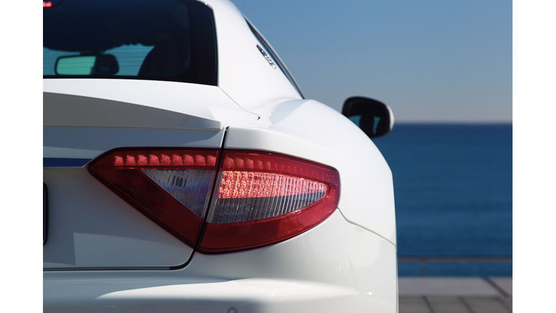 Maserati Gran Turismo MC Stradale Rücklicht
