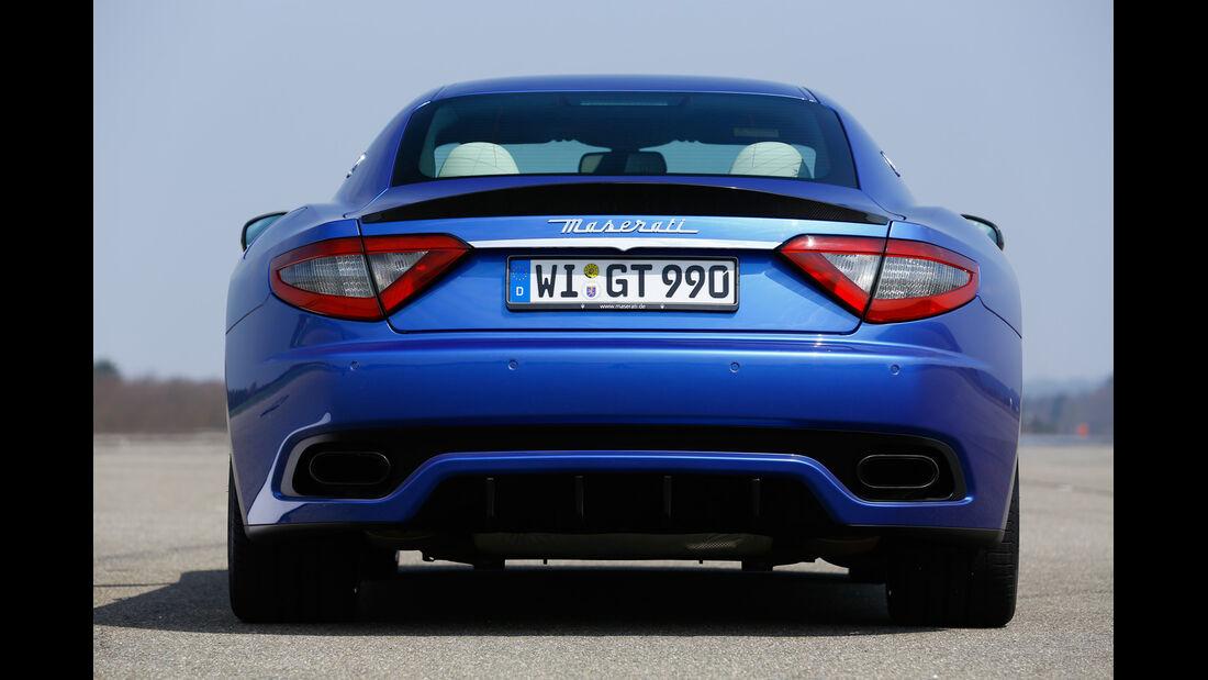 Maserati Gran Turismo Sport, Heckansicht