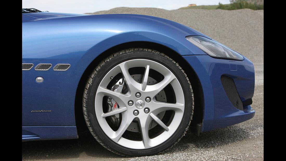 Maserati Gran Turismo Sport, Rad, Felge
