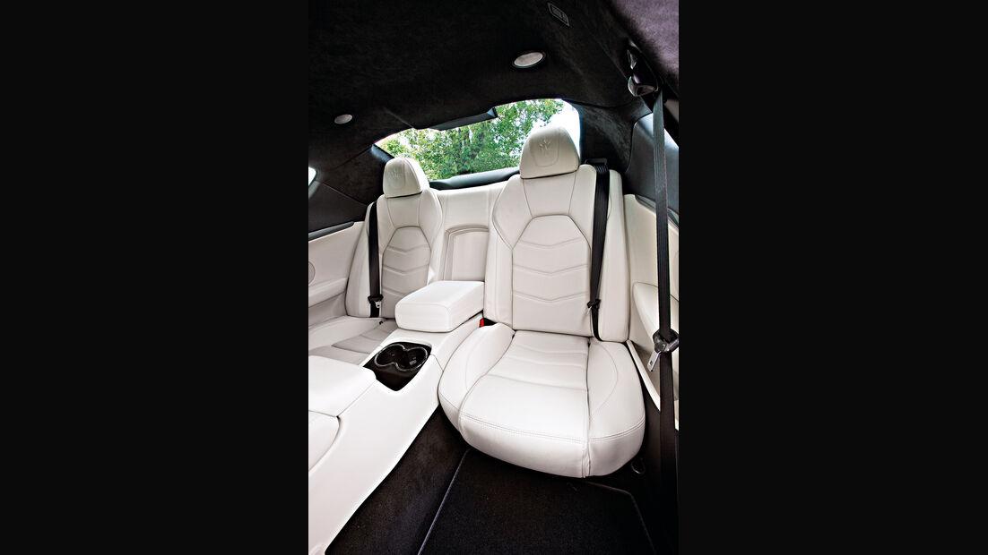 Maserati Gran Turismo Sport, Rücksitze